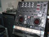 上からDJM-3000(5U)、CMX-3000(3U)、828MKII(1U)、DCR-1200Pro(1U)、CMX-3000(2U)